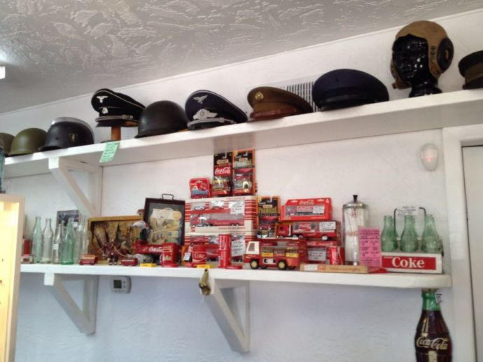 Military Helmets, caps, hats